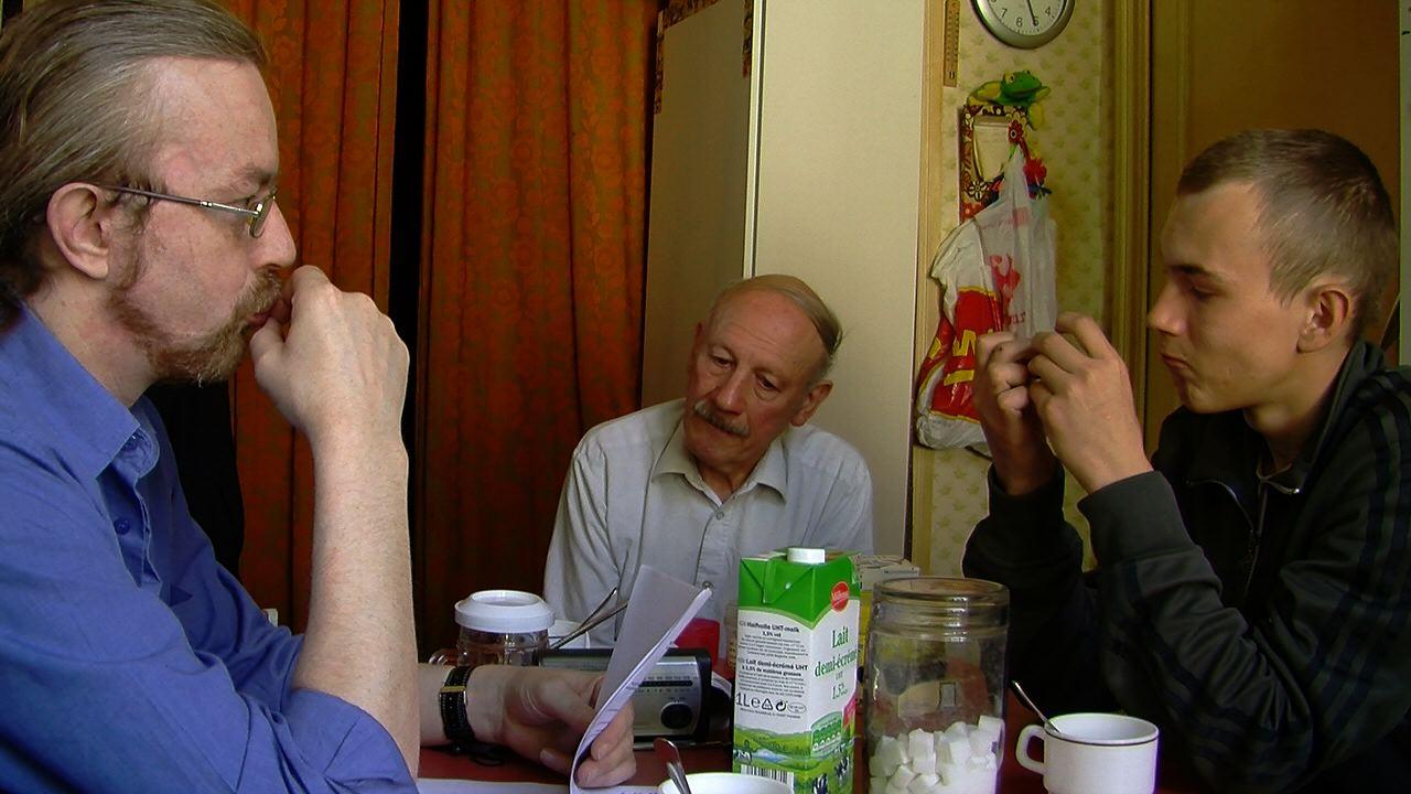 l'homme au harpon- Alain papy jeremy cuisine