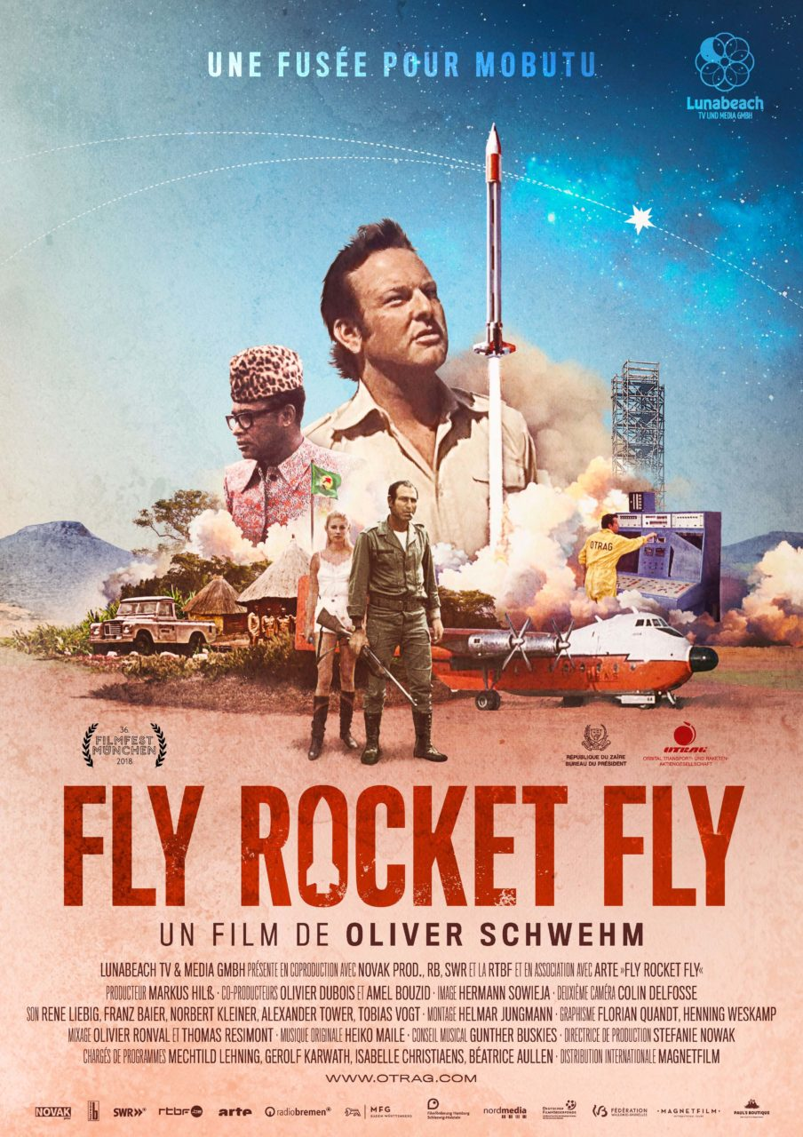 "<span lang =""en"">Fly rocket fly, a rocket for Mobutu!</span>"